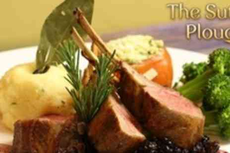 The Sutton Plough - Three Courses of Pub Fare For  Two  - Save 60%