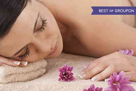 The Beauty Room - Massage and Facial  With OPI Manicure or Pedicure  - Save 56%