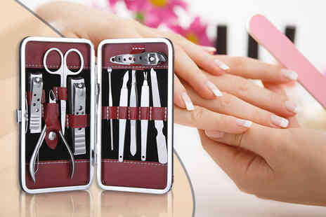 Alvis Fashion - Ten piece manicure set - Save 0%