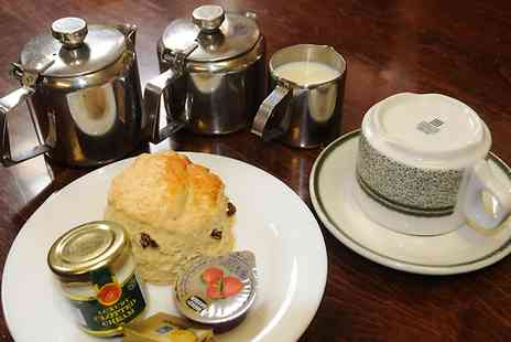 Maxines Cafe - Traditional Cream Tea For One  - Save 46%