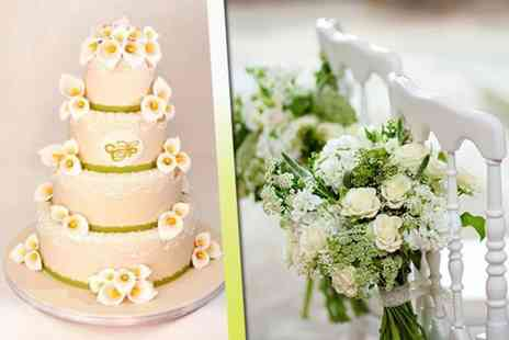 New York Cakes - Four tier wedding cake including delivery - Save 62%