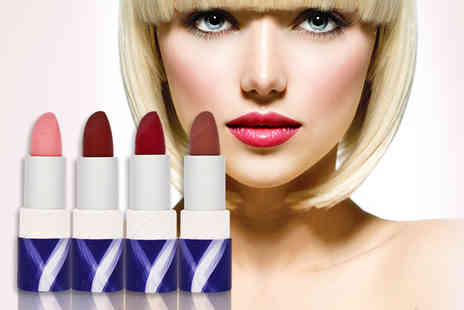 Xenca - Four piece organic lipstick bundle - Save 87%