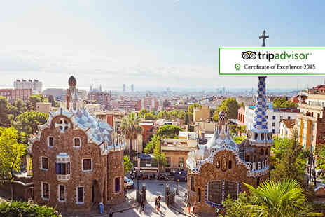 Tour Center - Two night Barcelona break including flights and a tour  - Save 18%