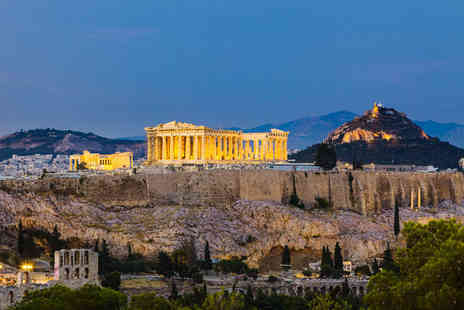 Holiday Angels 4 U - Three night Athens break including return flights and breakfast - Save 36%