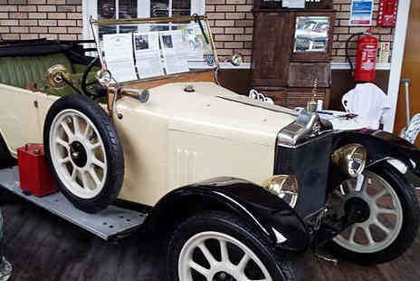 Newburn Motor Museum - Entry to Newburn Motor Museum for Two - Save 0%