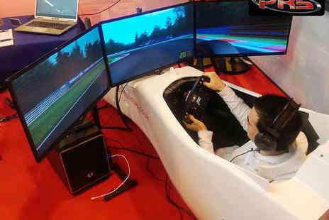 Pro Racing Simulators - Racing Simulator Experience for Two  - Save 45%