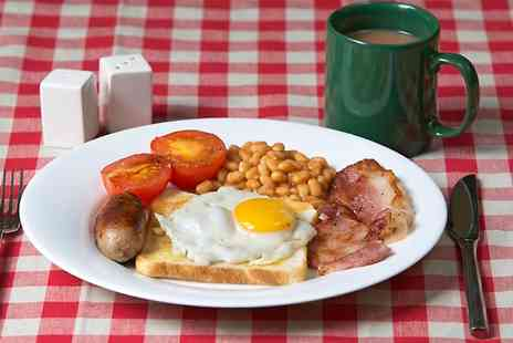 Piglets Cafe - Full English Breakfast With Coffee For Two  - Save 46%