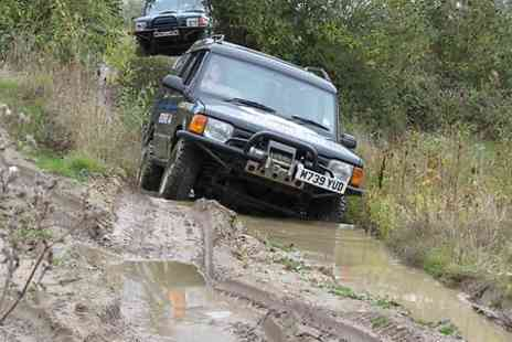 Berkshire 4X4 - Junior Off Road Driving Experience - Save 66%