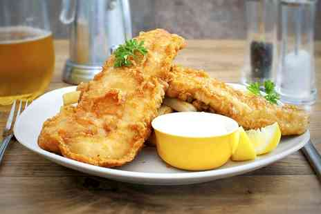 Toast Cafe Bar - Fish and Chips For Two - Save 61%