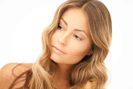 The Arch - Haircut, Finish, and Treatment with Half Head Highlights or Full Head Colour - Save 65%