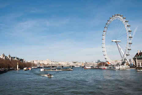 London Party Boats - River Thames Afternoon Cruise with Cream Tea for One Adult - Save 0%