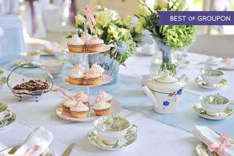 Rowley Manor Hotel - Sparkling Afternoon Tea For Two  - Save 60%
