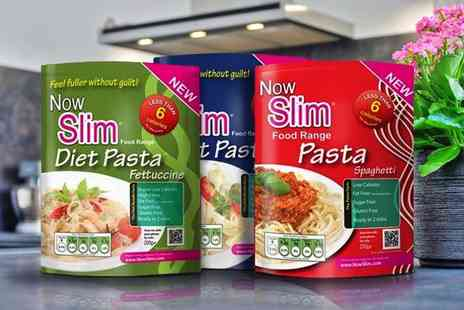Nowslim - Now Slim Pasta, Including Eight Diet Penne Pasta - Save 68%
