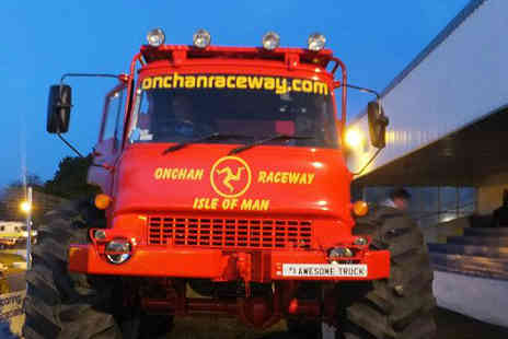 Onchan Raceway - Two Monster Truck rides for the price of one - Save 50%