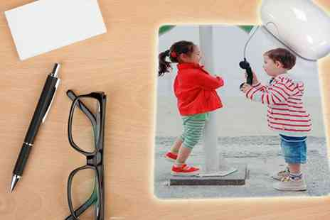 Dip Into - Personalised Mousemat Great for Fathers Day - Save 60%