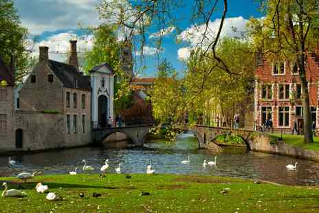 Leonardo Hotel Brugge - Two Night stay including breakfast, afternoon tea and chocolates - Save 53%