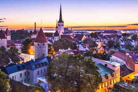 Ilmarine Hotel Tallinn - One or Two Night Stay in a single or double room with breakfast & wine - Save 32%