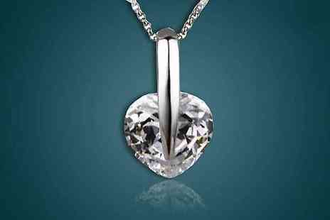 My Boutique Store - Crystal Heart Necklace - Save 90%