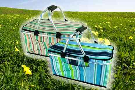 All Boxed Up - Foldable Picnic Basket - Save 71%