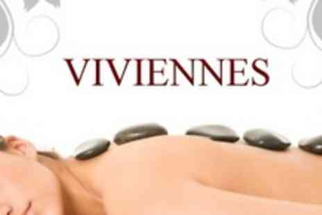 Viviennes - One Hour Full Body or Hot Stone Massage Plus Mini Facial - Save 60%