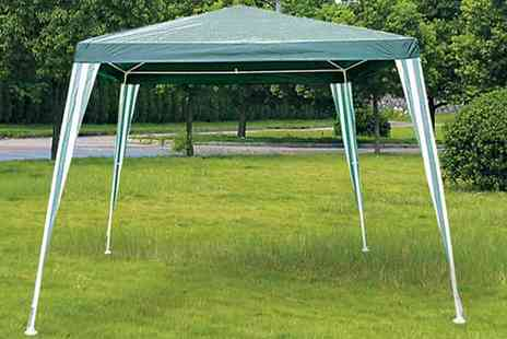 All Boxed Up - Large Green Garden Gazebo - Save 79%