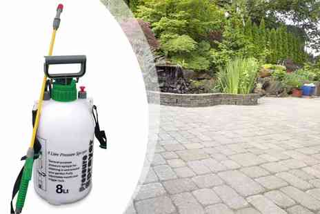 M&Ds - 5L  Garden Pressure Sprayer - Save 58%
