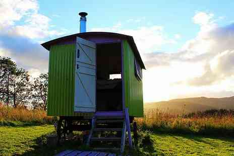 Ecocamp Glenshee -  Two night luxury glamping break for two in a pod, bell tent or shepherd hut, or stay in a yurt  - Save 51%