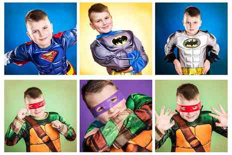 Jason Walker Photography Studio - 30 minute superhero photoshoot including an A3 photo poster  - Save 87%