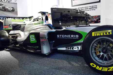 Stonerig Raceway - Formula One Simulator Experience For One - Save 47%