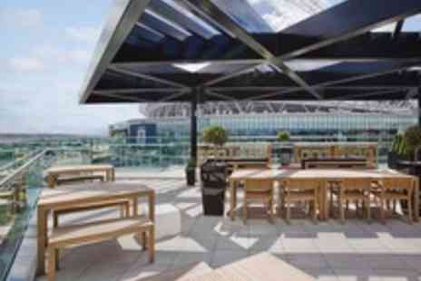 Hilton London Wembley - Champagne Afternoon Tea for Two - Save 40%