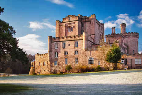 Dalhousie Castle - Magnificent Scottish Castle Stay near Edinburgh with Two AA Rosette Restaurant - Save 0%