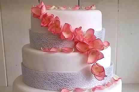 Art of Cakes - Bespoke Wedding Cake and 100 Mini Cupcakes - Save 0%