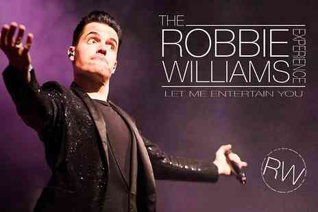 Rotherham Civic Theatre - Ticket to The Robbie Williams Experience  For One - Save 41%
