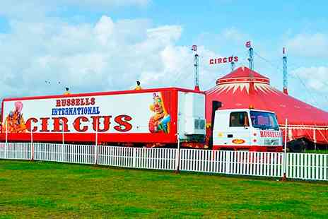 Russells International Circus - Two Tickets to Russells International Circus  - Save 64%