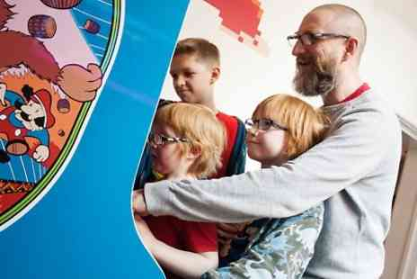 GameCity  - Entry For One or a Family  to The National Videogame Arcade  - Save 53%