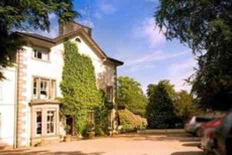 Lovelady Shield Country House -  Cumbria getaway for 2 with dining and wine - Save 36%