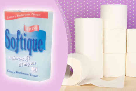 SLR Internet & Retail - 60 or 120  two Ply Softique Toilet Rolls - Save 40%