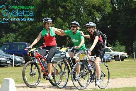 Human Race - Entry to Macmillan Cycletta 20km Women Only Bike Ride 2015 With Goody Bag - Save 0%
