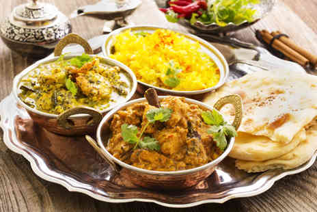 Priya - Three course Indian meal for Two  - Save 55%