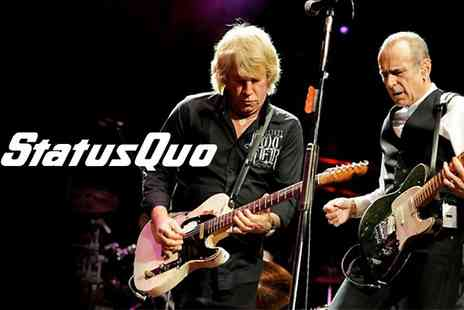 Live Promotions Events -  Ticket To Status Quo  - Save 21%