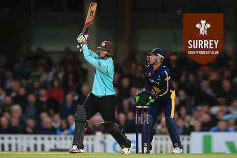 Surrey County Cricket Club - Ticket to Choice of Surrey T20 Natwest Blast Games  For an Adult - Save 0%
