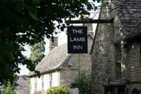 The Lamb Inn - Sharing Platter with a Bottle of Wine for Two  - Save 38%