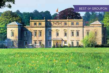 Ston Easton Park - One Night stay For 2 With Breakfast  - Save 30%