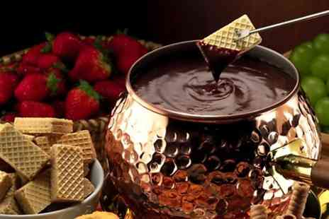 Kandy Factory - Chocolate Fondue With Tea For Two  - Save 50%