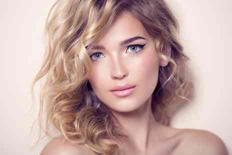 The Velvet Rooms - Cut and Blow Dry  Plus Half Head Highlights  - Save 57%