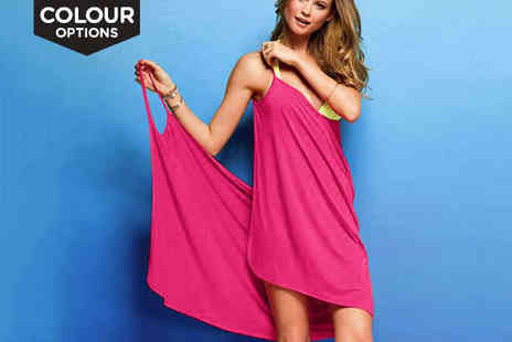 athenae store  - Strappy Crossover Beach Cover Up in a Choice of Colour and Size - Save 73%
