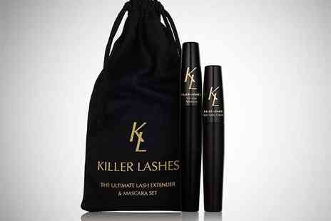 Killer Lashes Extender Set - One Killer Lashes Extender Set, Delivery Included - Save 73%