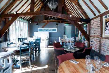 The Crown - Enjoy One night in Berkshire with  a 3 course gourmet dinner & more - Save 50%