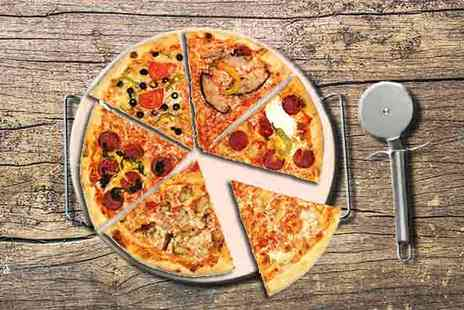 Qfonic Technology Distribution Network - Pizza Stone, Wire Rack and Pizza Cutter - Save 39%