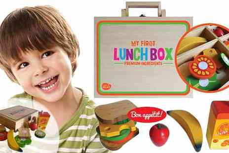 My Desi Guru - My First Lunchbox Wooden Sandwich Play Set - Save 56%
